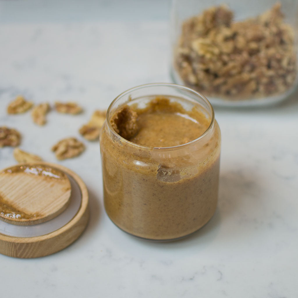Zero Waste Recipe: Homemade, 1-Ingredient Walnut Butter