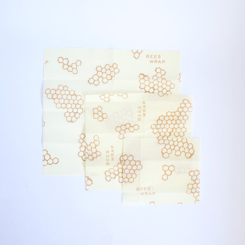 Beeswax Cloths, Set of 3