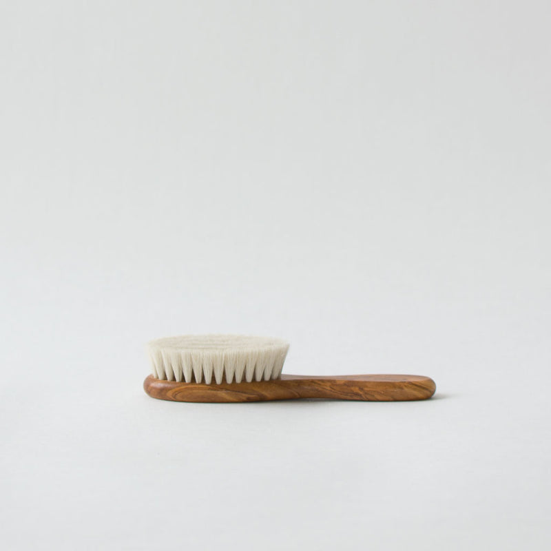 Wood Baby Brush