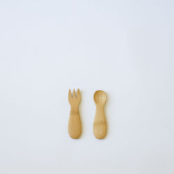 Bamboo Baby Fork & Spoon