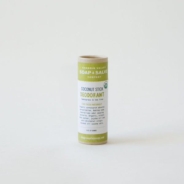Organic Lemongrass & Tea Tree Oil Deodorant