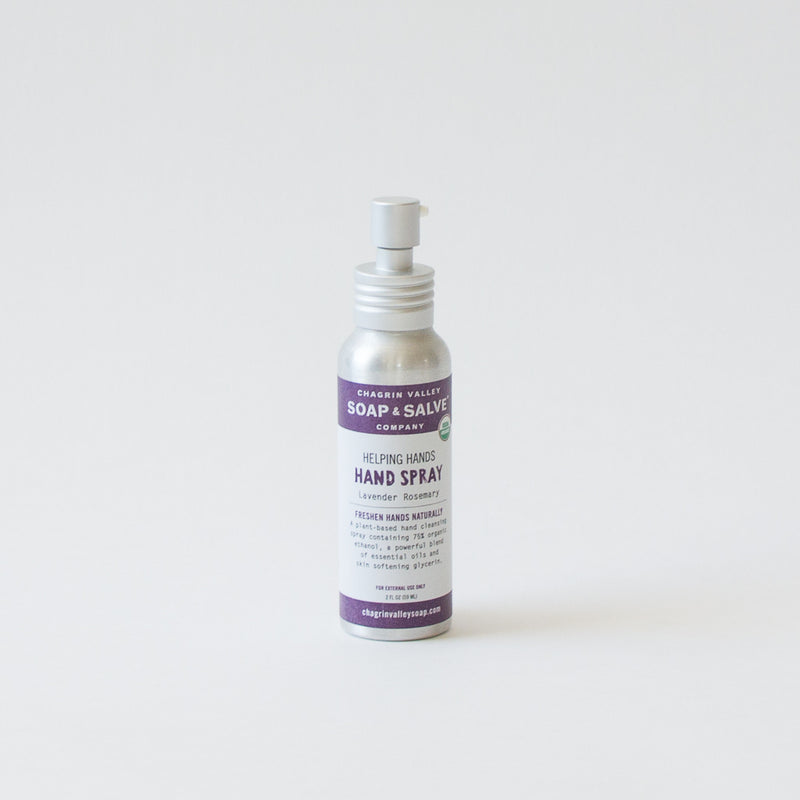 Organic Hand Cleanser Spray