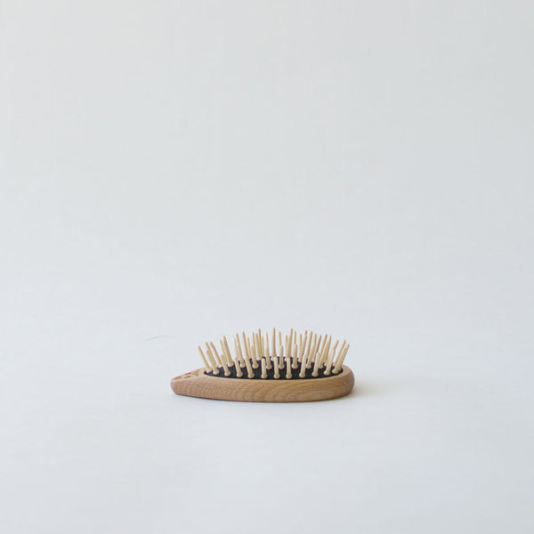 Wood Hedgehog Hairbrush