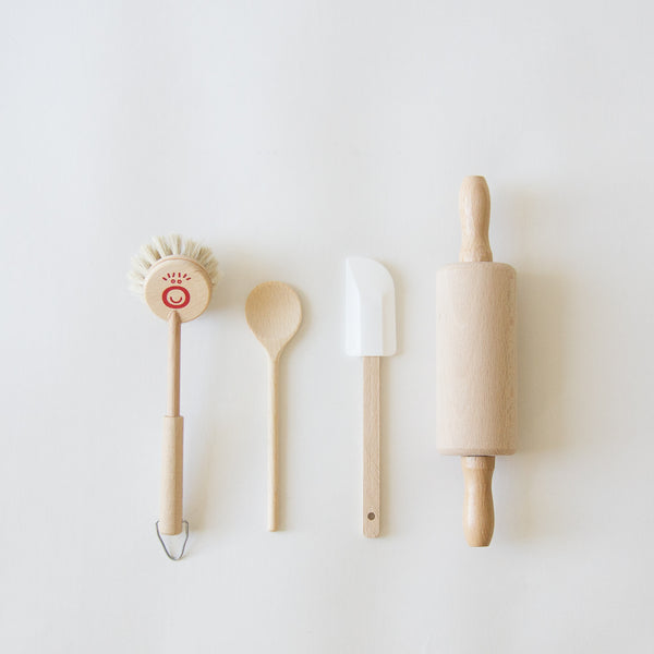 Kid's Wood Cooking Kit