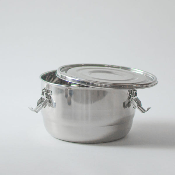 Large Stainless Steel Container
