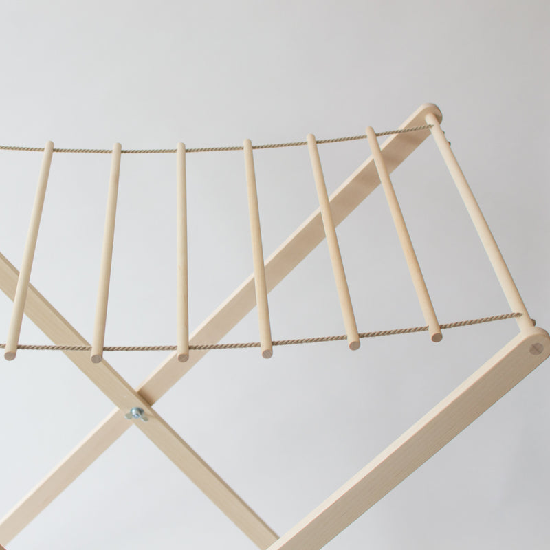 Wood Laundry Drying Rack