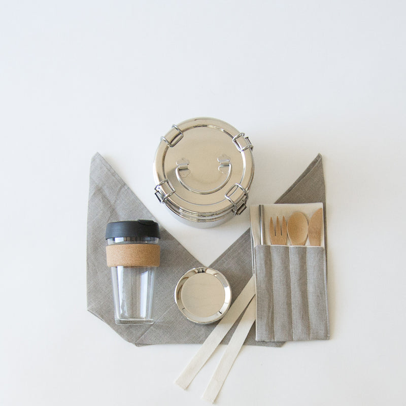 Zero Waste Lunch Kit With Coffee Cup