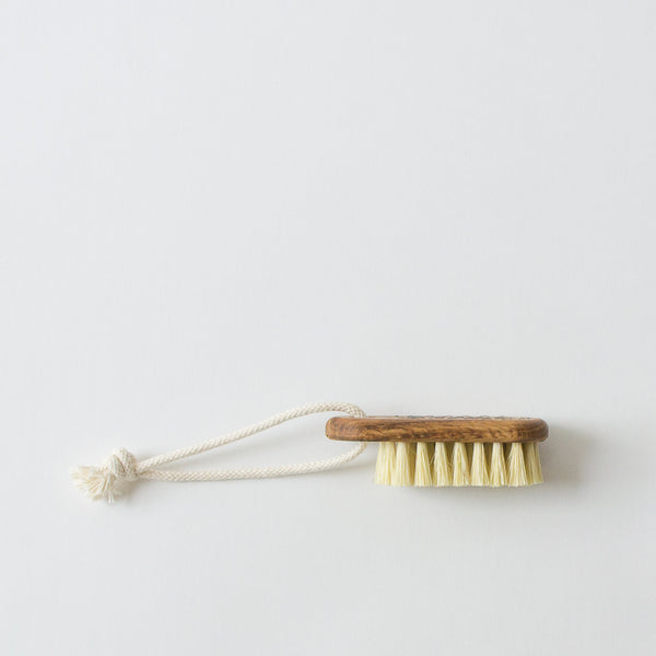Nail Brush with Rope