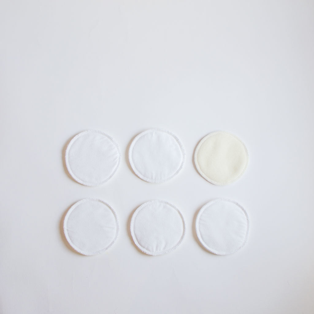 reusable cotton nursing pads
