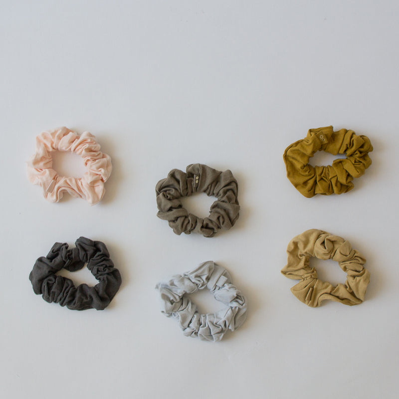Organic Cotton Scrunchies, Set of 2
