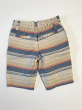 Canvas Cotton Striped Board Shorts