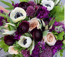 Hand Tied Bouquet with Upgraded selection of Florals