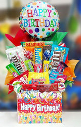 Birthday Brights Candy Basket / Box - Celebrate / Happy Birthday Gift