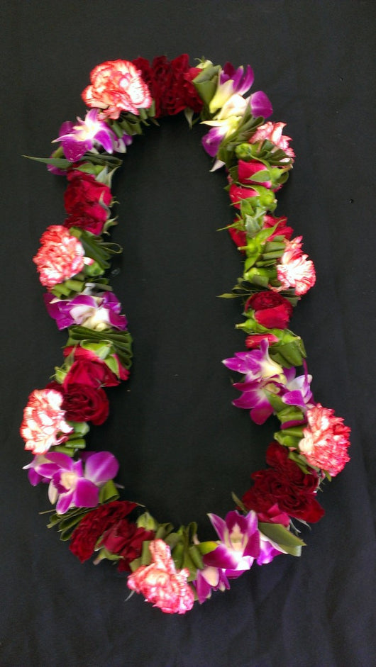 Custom weive lei - Any color     Sample 2