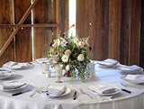 Barn Wedding Arrangements...... No rules. Why do they need to be the same?