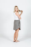 *SALE* MINI SKIRT - Charcoal