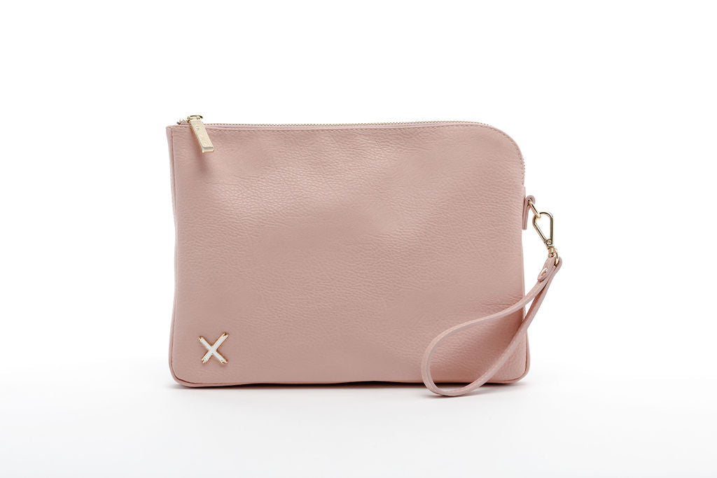 OVERSIZED CLUTCH - Blush Pink