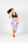 3/4 LEGGINGS - Queen Protea