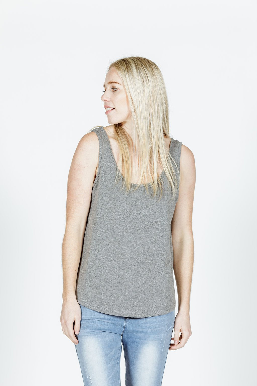 FRANKIE TOP - Charcoal