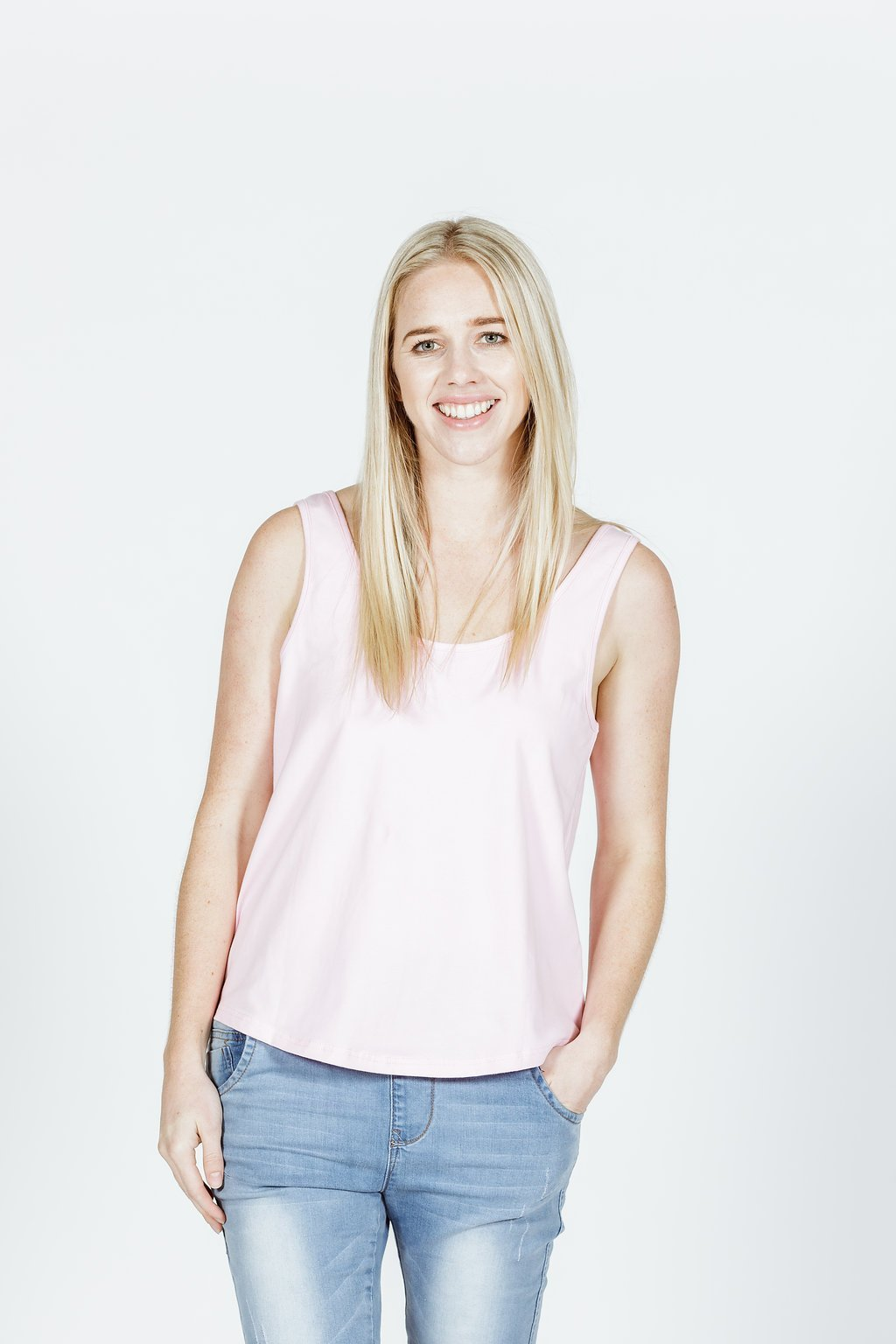 FRANKIE TOP - Blush Pink