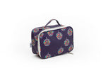 COSMETIC BAG - LARGE - Disco Ball Print
