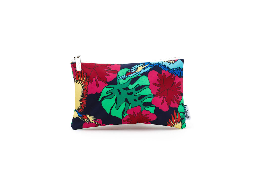 COSMETIC BAG - MEDIUM - Vacay Print
