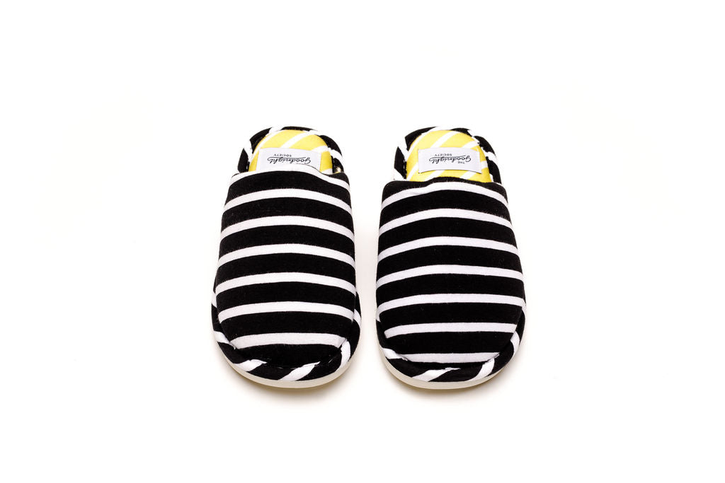 HOTEL SLIDES - Black & White Stripes