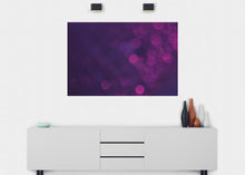 Load image into Gallery viewer, Purple Bubbles Wall Mural - Blue Lake Decor