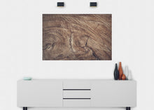 Load image into Gallery viewer, Tree Stump Wall Mural - Blue Lake Decor