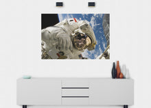 Load image into Gallery viewer, Astronaut Space Walk Wall Mural - Blue Lake Decor