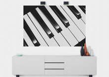 Load image into Gallery viewer, Piano Keys Wall Mural - Blue Lake Decor