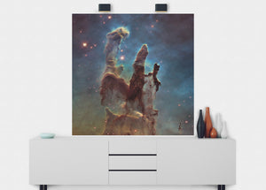 Pillars Of Creation Wall Mural - Blue Lake Decor
