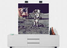 Load image into Gallery viewer, Last Man On The Moon Wall Mural - Blue Lake Decor