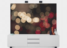 Load image into Gallery viewer, Bokeh City Lights Wall Mural - Blue Lake Decor