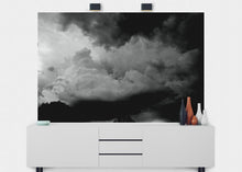 Load image into Gallery viewer, Storm Clouds Wall Mural - Blue Lake Decor