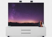 Load image into Gallery viewer, Shooting Star At Dusk Wall Mural - Blue Lake Decor