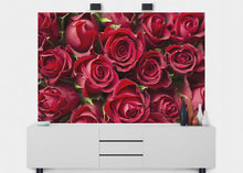 Load image into Gallery viewer, Red Roses Wall Mural - Blue Lake Decor