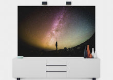 Load image into Gallery viewer, Colorful Milky Way Wall Mural - Blue Lake Decor