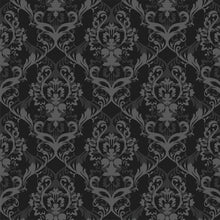 Load image into Gallery viewer, Layered Damask Wallpaper - Blue Lake Decor