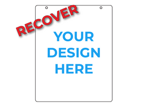 "RECOVER 24"" x 30"" Sign Panel - Blue Lake Decor"