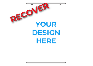 "RECOVER 24"" x 36"" Sign Panel - Blue Lake Decor"