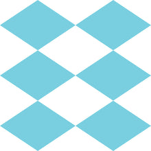 Load image into Gallery viewer, Checkered Diamonds Wallpaper - Blue Lake Decor