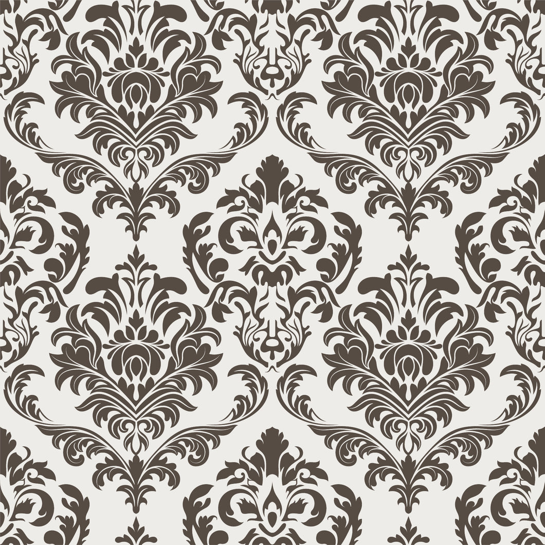 Damask Wallpaper - Blue Lake Decor