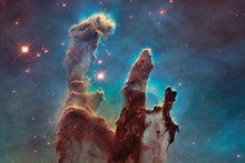 Load image into Gallery viewer, Pillars Of Creation Wall Mural - Blue Lake Decor