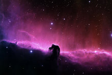 Load image into Gallery viewer, Horse Head Nebula Wall Mural - Blue Lake Decor