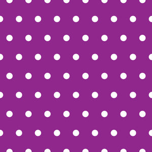 Medium Polkadots Wallpaper - Blue Lake Decor
