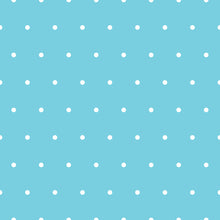 Load image into Gallery viewer, Small Polkadots Wallpaper - Blue Lake Decor