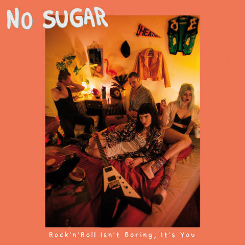 No Sugar - Rock'n'Roll Isn't Boring, It's You cassette