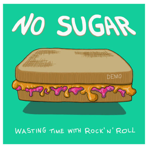 No Sugar - Wasting Time w/ Rock'n'Roll cassette