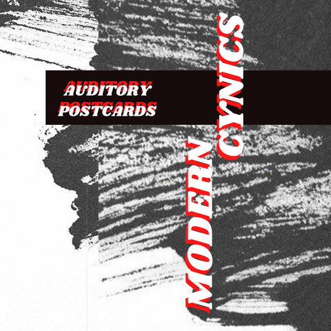 Modern Cynics - Auditory Postcards tape (preorder)